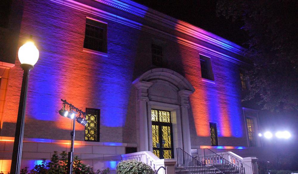 US Naval Academy Preble Hall